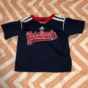 A Red, White and Blue Cardinals Jersey